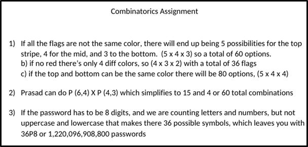 Combinatorics And Basic Set Theory 5