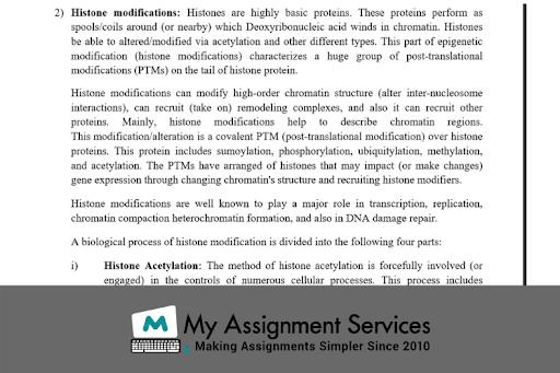 Histon Modifications