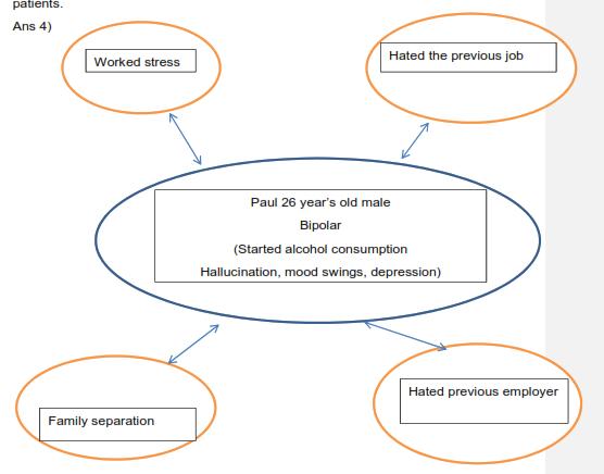 figure shows Paul's bipolar disorder