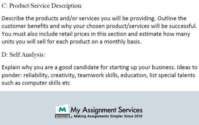 Franchising and Small Business Assignment Services