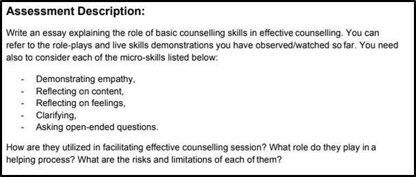 social studies assessment description