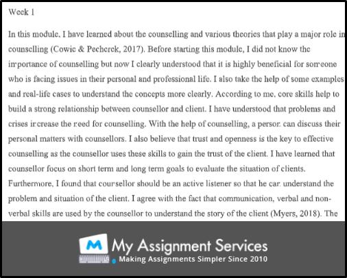 reflective journal assessment 2