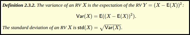 expectation of a random variable 2