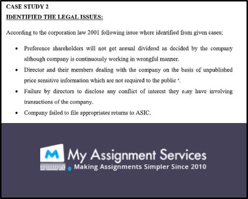 LAW2001 case study 4