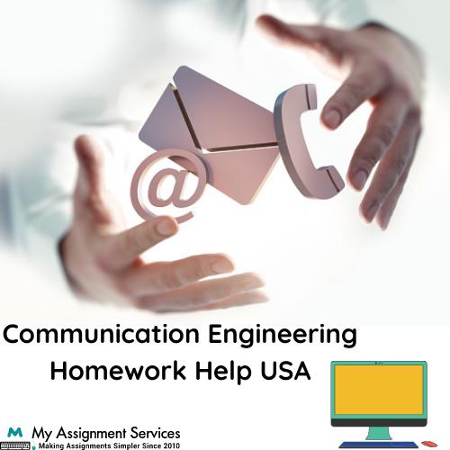 Communication Engineering Homework Help in USA
