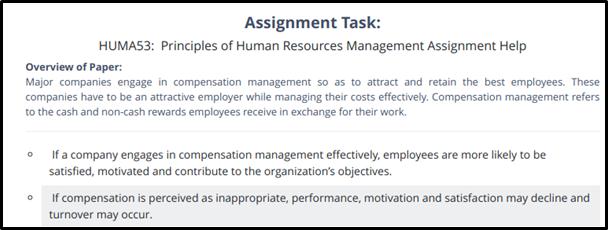 HUMA53 assignment task