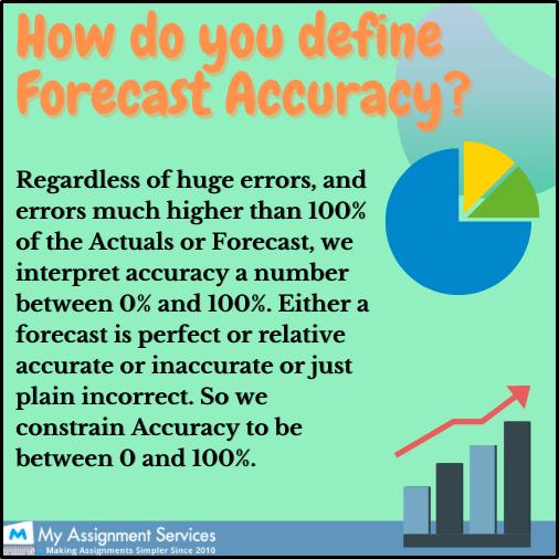 define forecast accuracy