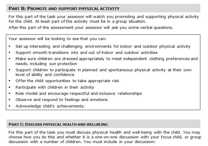 Child Health and Wellbeing Homework Help