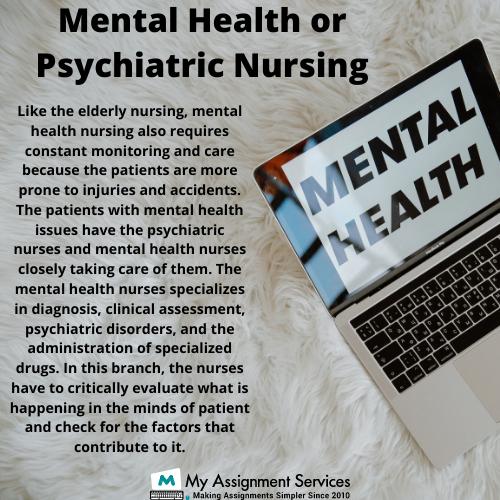 Mental Health or Psychiatric Nursing Assignment