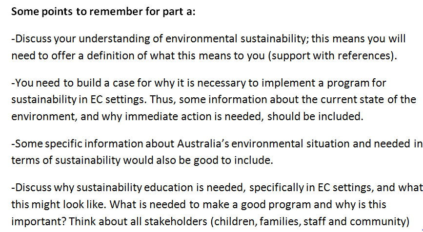 Sustainable Communities Assignment