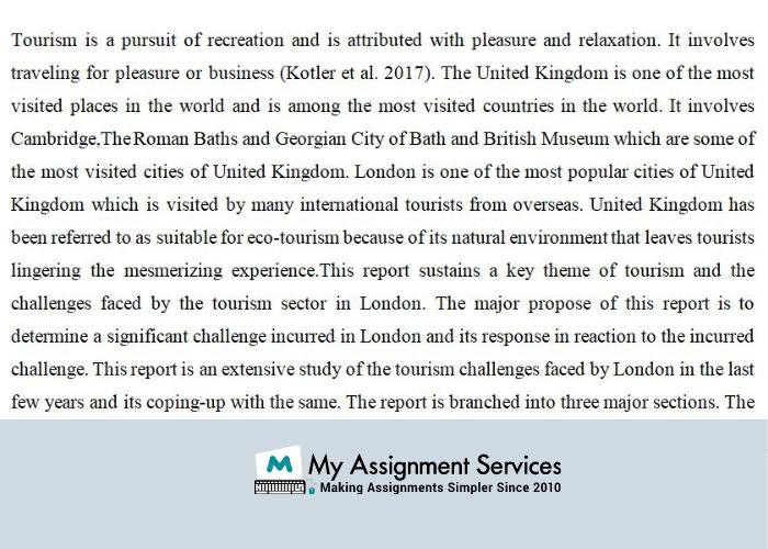 Business Tourism Management assignment help