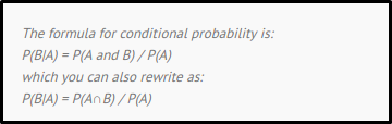 Conditional Probability 1