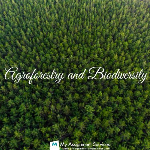 Agroforestry Biodiversity