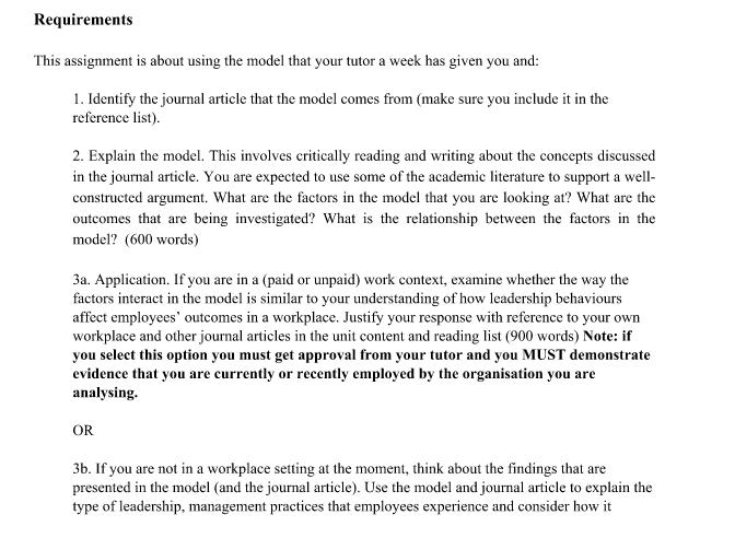 exchange studies assignment sample