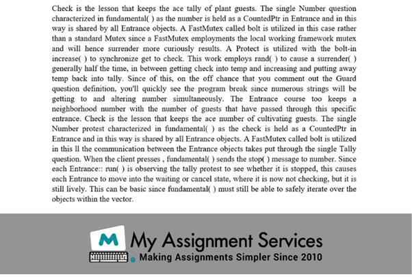 Assignment solution screenshot 10