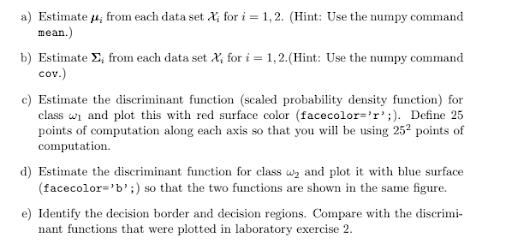 Multivariate Gaussian Distribution Assignment Help