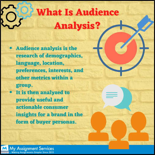 what is audience analysis