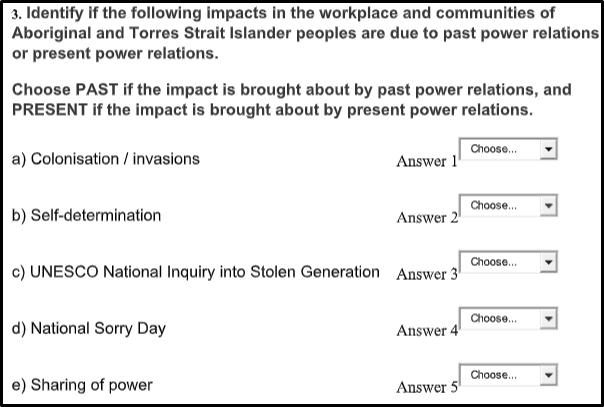 Cultural and Diversity Considerations quiz3