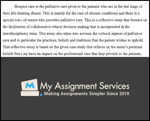 Palliative and End of Life Care case study 2