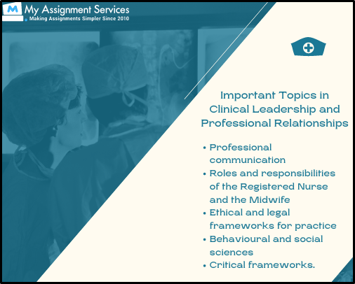 Clinical Leadership topics