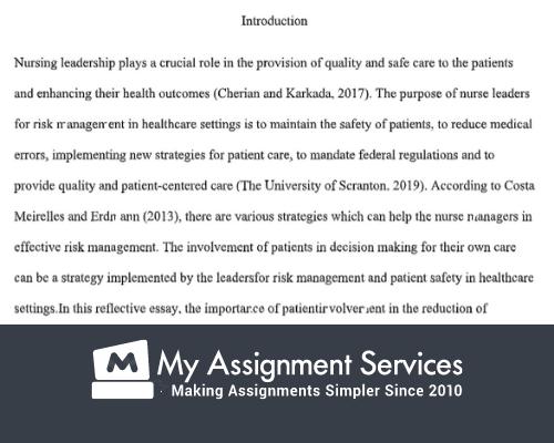 HNN320 Leadership And Clinical Governance Assessment sample