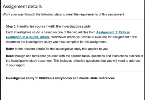Assignment Details Forensic Psychology Homework Help