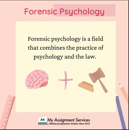 Forensic Psychology Homework Help