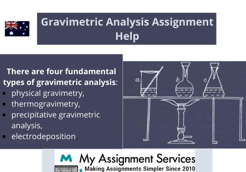 Gravimetric Analysis Assignment Help