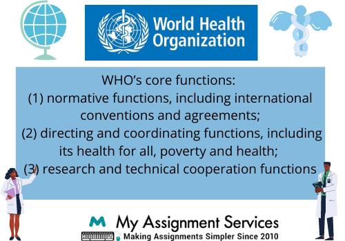 World Health Organization Case Study