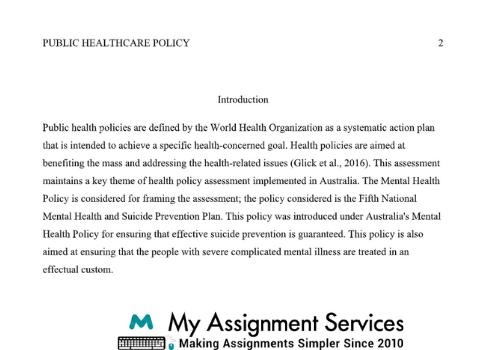 World Health Organization Case Study help in Australia