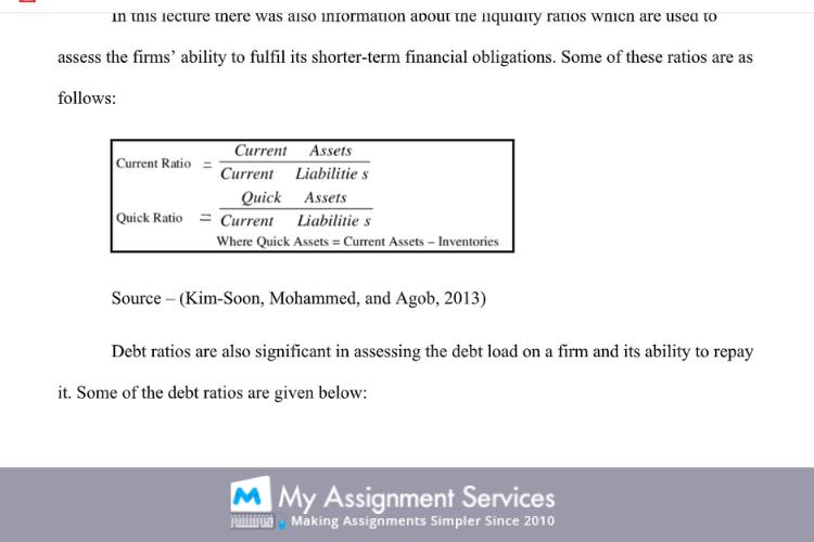 project economics finance assignment samples 1
