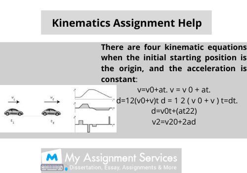 Kinematics Assignment Help