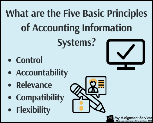 Basic principles of accounting information