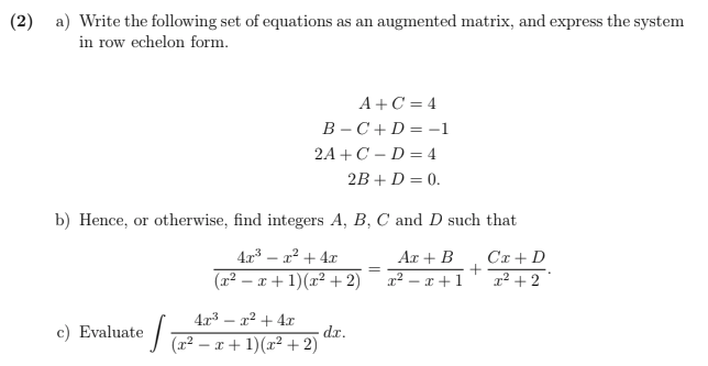 Calculus Homework Solution