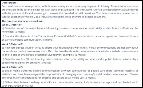 HC1021 Interpersonal and E communication3