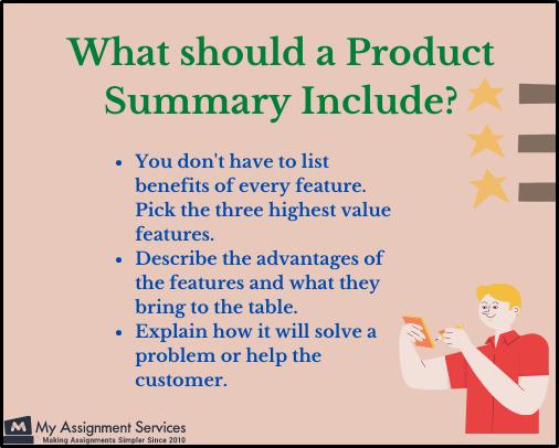 Product Planning Summary