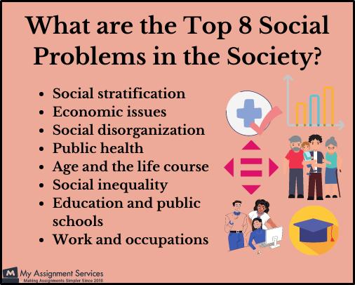Top 8 social problems