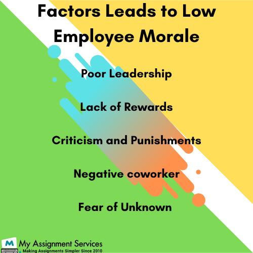 employee morale factor
