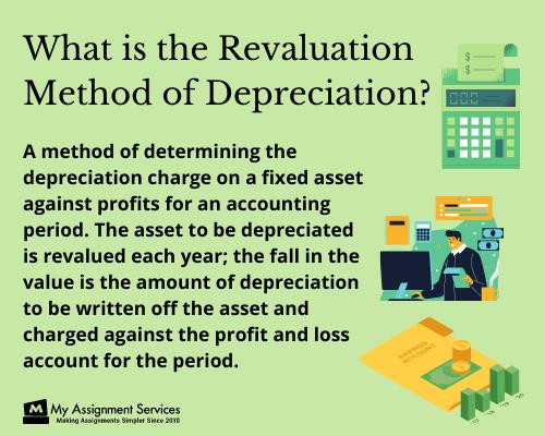 revaluation method of depreciation
