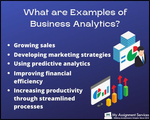 example of business analytics