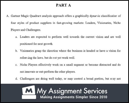 part A assessment