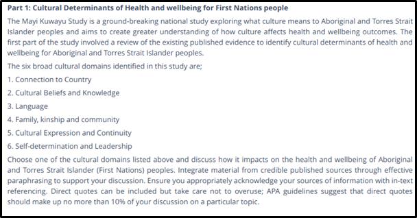 cultural determinants of health