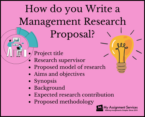 management research proposal