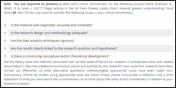 management research proposal sample