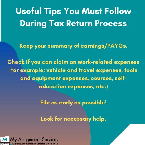 tax return process