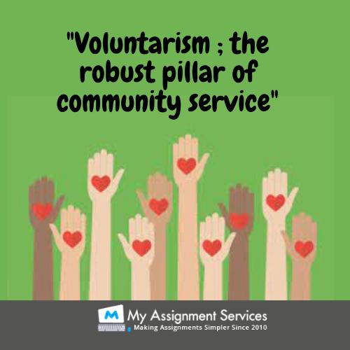 pillar of community service