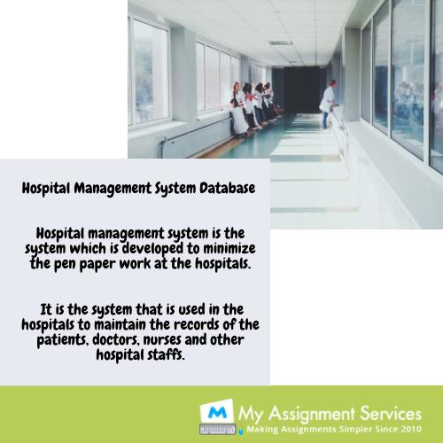 hospital management system database