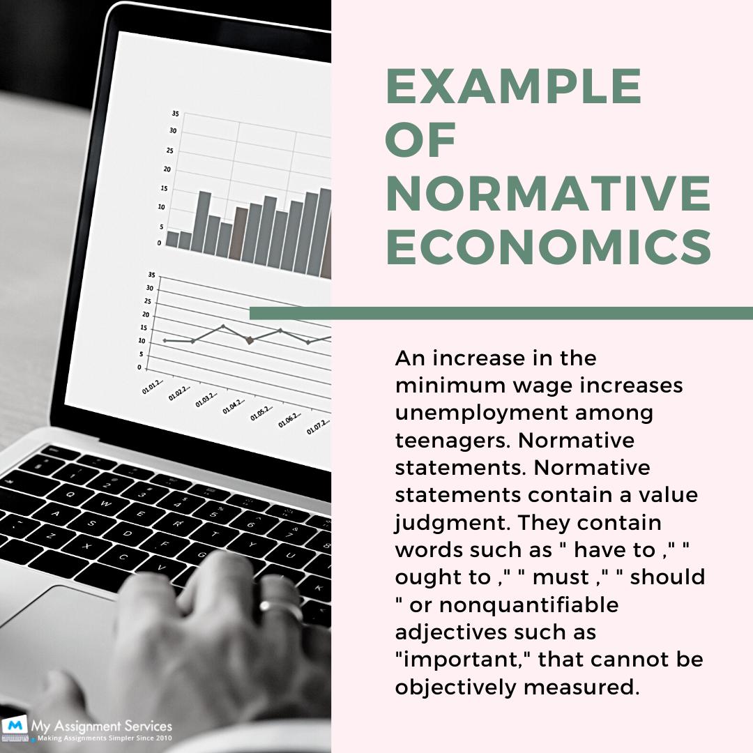 Normative Economics Assignment Help