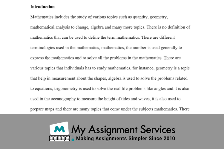 Applied Maths Assignment Sample solution