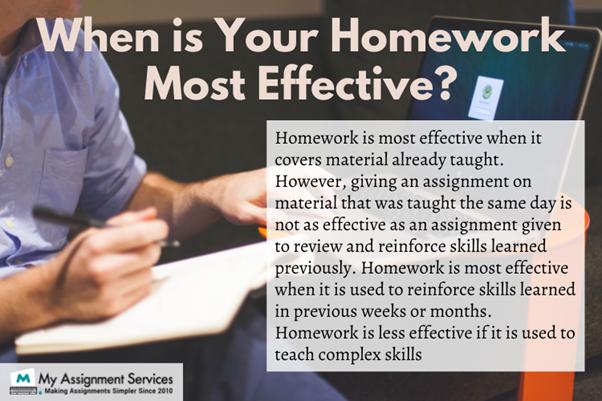 homework most effective